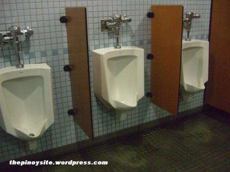 naia 3 - malinis na urinals