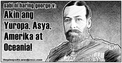 king george v ng inglatera