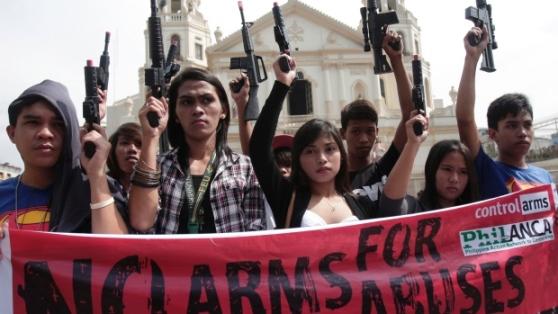 no to gun violence