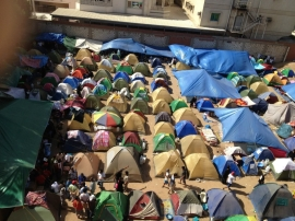 View at the top-Tent City Jeddah
