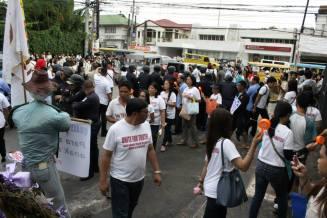holy angel university teacher's strike 04