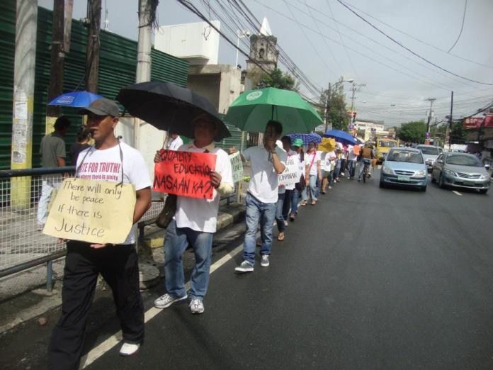 holy angel university teacher's strike 03