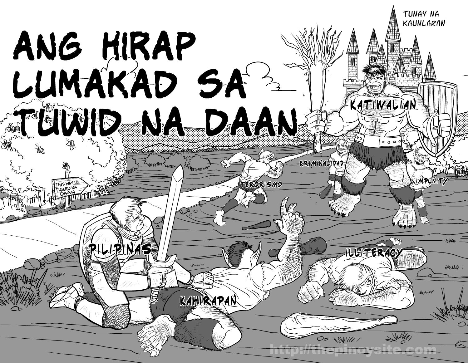 Ang Hirap Lumakad sa Tuwid na Daan | The Pinoy Site