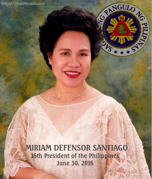 President Miriam Santiago