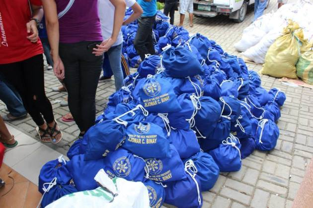 ovp bags for relief goods