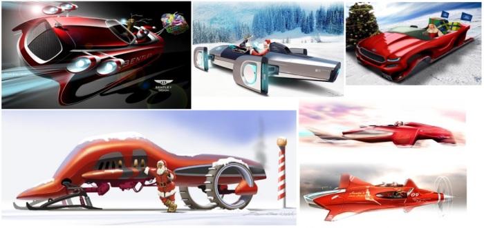 concept santa cars