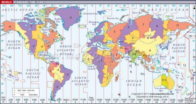 World-Time-Zone