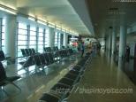 waiting area sa boarding gate ng eroplano (naia 3)