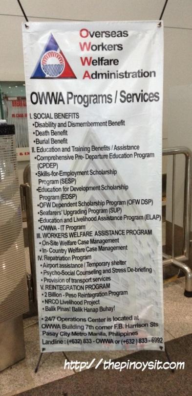 OWWA benefits