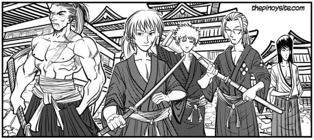 samurais of japan