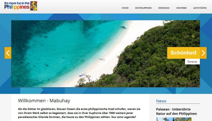 philippine tourism germany