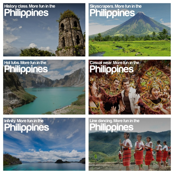philippines tourism campaign posters