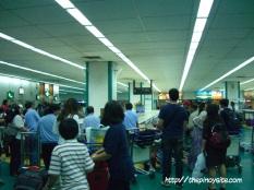 baggage retrieval area naia 1