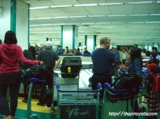 baggage retrieval naia terminal 1