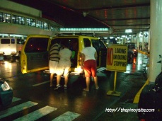 naia 1 pick-up area