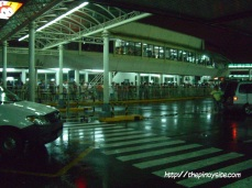 naia 1 waiting area for non-passengers