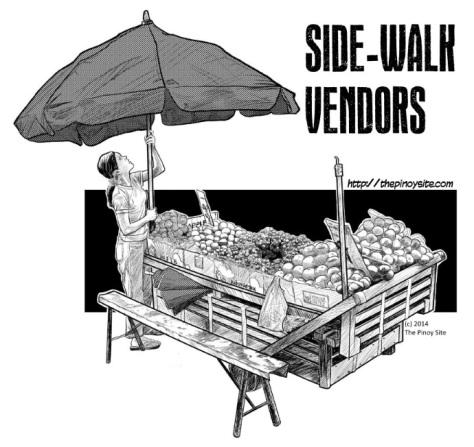 ang importansya ng mga sidewalk vendor