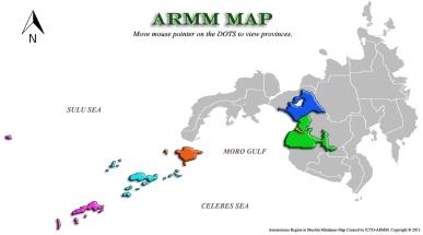 ARMM map