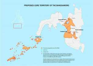 bangsamoro government map