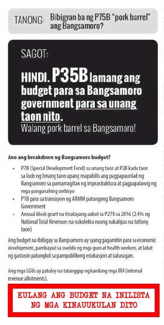 BBL budget