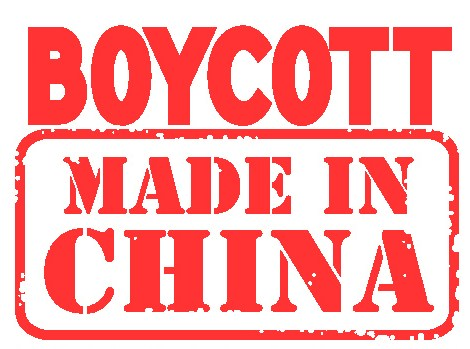boycott chinese products