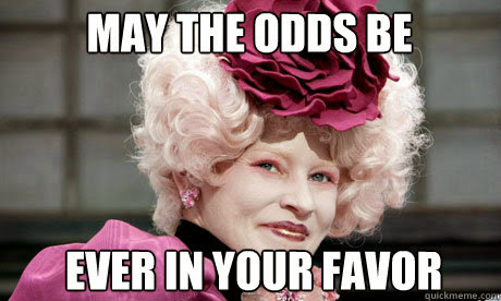 versus odds hunger games