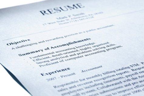 pagsulat ng resume