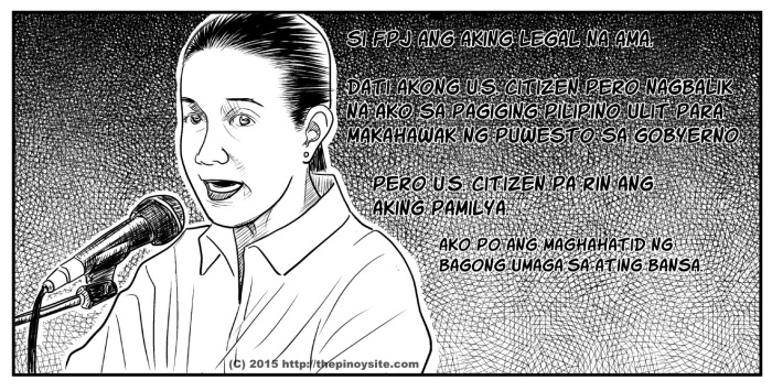 grace poe for president