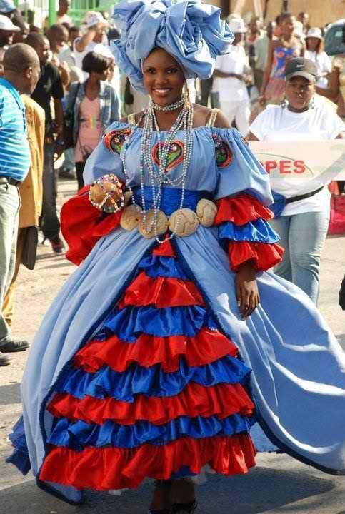 haiti costume