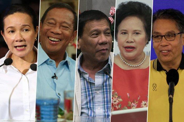 mga kandidato sa pagka-pangulo 2016