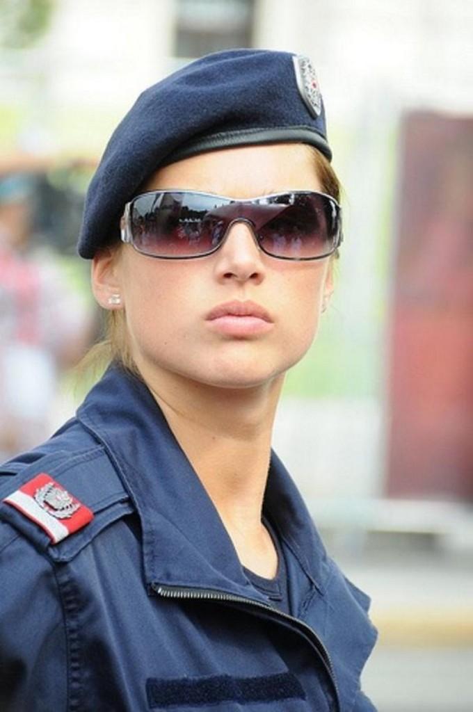 austrian policewoman