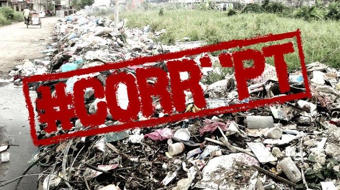 corruption garbage