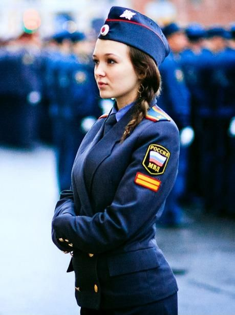 pretty russian policewoman