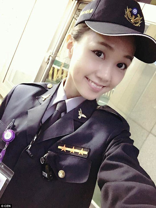 taipei police Huang Yichun