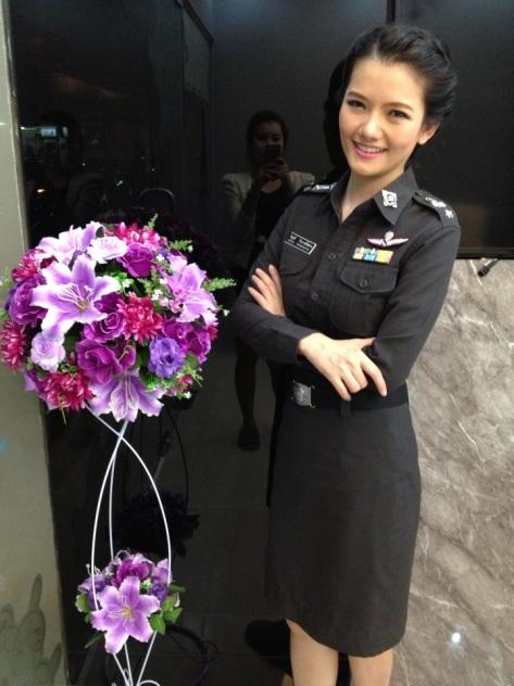 thai policewoman