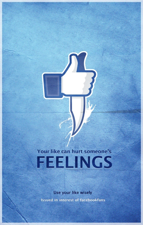 think before posting on fb