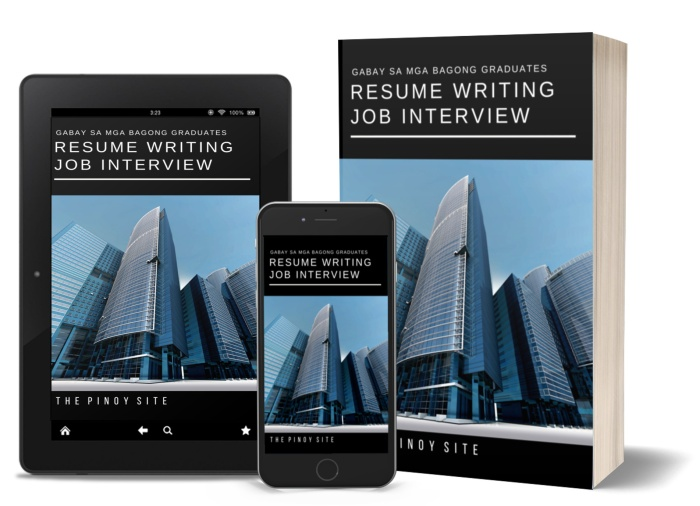 paano gumawa ng resume ebook